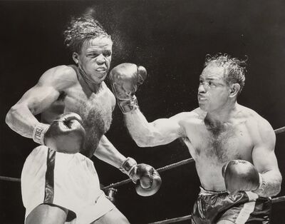 Various Artists, 'A Group of Nine Daily News Boxing Press Photographs'