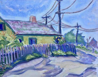 Jane Jarvis Mumford, 'Backyard Garden', 1915