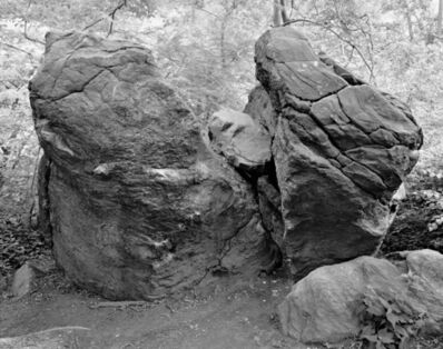 Mitch Epstein, 'Split Rock, The Rambles, Central Park, NY from the series Rocks and Clouds', 2014