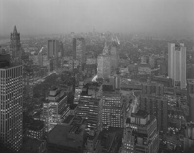 Nicholas Nixon, 'View North from Pine Street, New York City', 1975