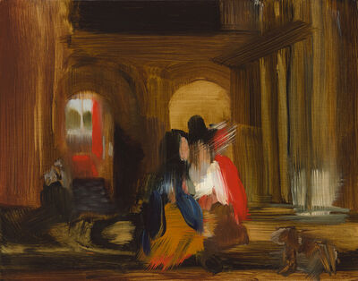 Elise Ansel, 'Walking, (after Pieter de Hooch)', 2015
