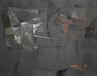 Toti Scialoja, 'Finestra Scura', 1954