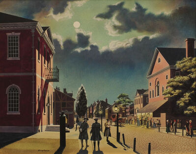 James R. Bingham, 'Chestnut Street's New Theatre', 1948