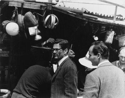 Tazio Secchiaroli, 'Pier Paolo Pasolini, 'Accattone'', 1960