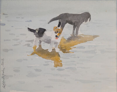 Robert Andrew Parker, 'Dogs on Water', 2012