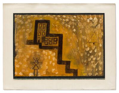 Paul Klee, 'Das Haus in der Höhe', 1923