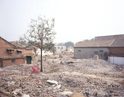 Manit Sriwanichpoom, 'Beijing Pink #12: Village', 2006
