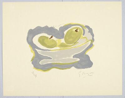 Georges Braque, 'Si Je Mourais la-Bas (Plate 8)', 1962