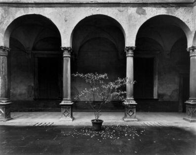 Evelyn Hofer, 'Bergamo Courtyard, Italy', 1977