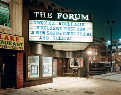 Will Steacy, 'The Forum, Philadelphia, from the series Down These Mean Streets', 2008