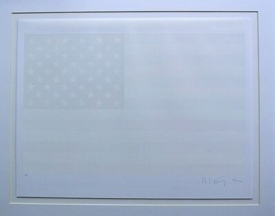 Robert Longo, 'White Flag', 1992