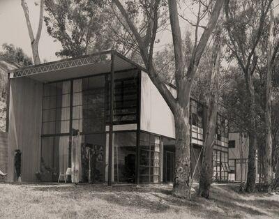 Julius Shulman, 'House Exterior with Trees', 1950s