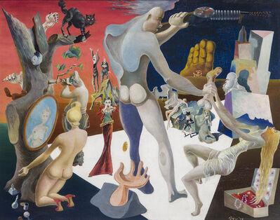 James Meikle Guy, 'Capital Minus Labor', 1938