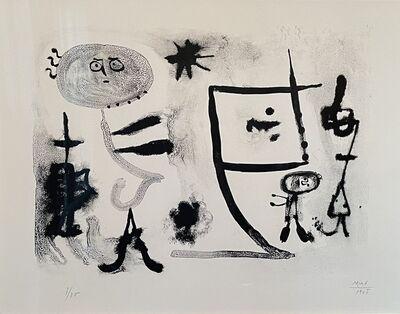 Joan Miró, 'Album 13, plate 1', 1948