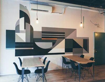 Rubin415, 'Routine Mural', 2017