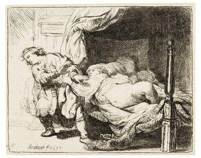 Rembrandt van Rijn, 'Joseph and Potiphar's Wife', 1634