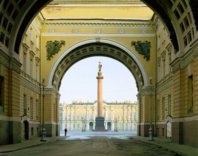 Andrew Moore, 'Palace Square, St. Peterburg, from the series Russia', 2003