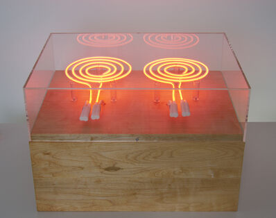 Lois Andison, 'neon burners', 2012