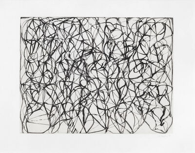 Brice Marden, 'Zen Study 2 ', 1991