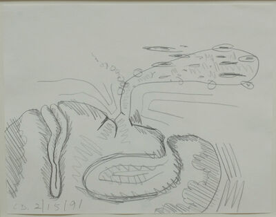 Carroll Dunham, 'Untitled', 1991