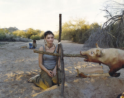 Justine Kurland, 'The Pig Roast', 2001