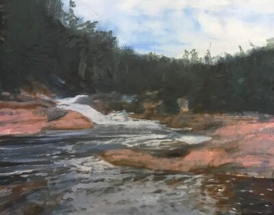 Dean Dass, 'Chippewa Falls Above Superior', 2019