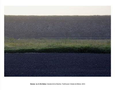 """Humberto Ríos, 'Deceso no. 9, Sin Datos, Calzada de los Muertos, Teotihuacán, Estado de México (from the series """"Forensic Documents"""")', 2013"""