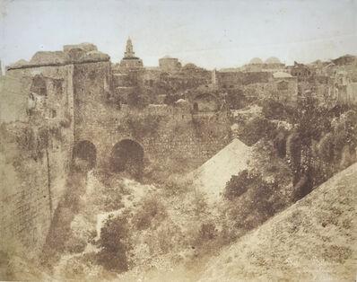 Ernst Benecke, 'Pool of Bethesda (Bassin Bethsaida), Jerusalem', 1852