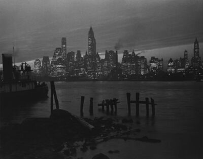 Fred Stein, 'View of Manhattan (New York)', 1945