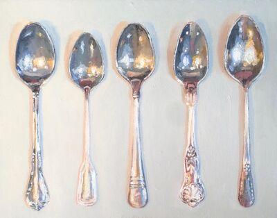 Ray Kleinlein, 'Five Spoons', 2017