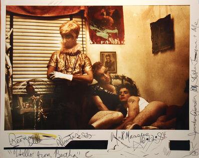 Mark Morrisroe, 'Hello from Bertha', 1983-1984
