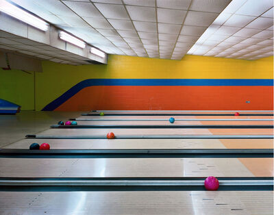 Andrew Moore, 'Bowling Lanes, Governors Island, NYC', 2004