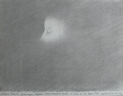 Markus Raetz, 'Markus Rätz - Zeichnungen - Objeckte - Kunstmuseum Basel - 4 März bis 16 pril 1972', 1972