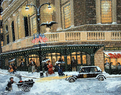 Fabienne Delacroix, 'Forte neige'