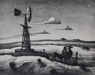 Thomas Hart Benton, 'West Texas', 1952
