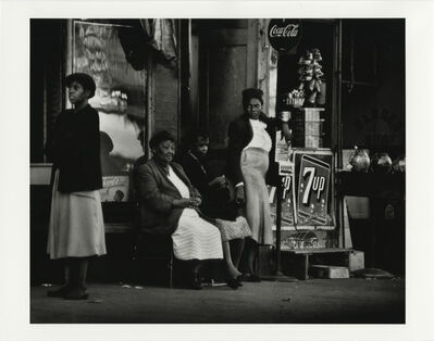 Gordon Parks, 'Neighbors, Harlem, New York', 1952