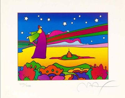 Peter Max, 'Two Cosmic Sages Ver. II', 2001