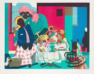 Romare Bearden, 'Morning, Hors Commerce', 1979