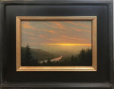 Ken Salaz, 'Soft Sunset over the Hudson', ca. 2020