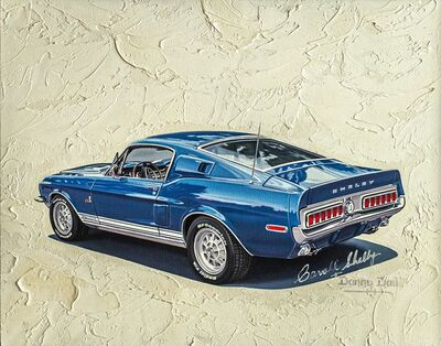 Danny Day, 'Shelby Mustang GT 500KR', Late 20th century  -Early 21st century