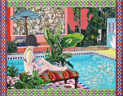 Naomi Okubo, 'A Pool Side', 2018