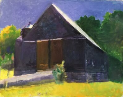 Wolf Kahn, 'Roston Barn', 2003