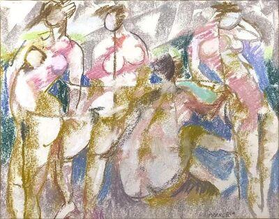 Fausto Pirandello, 'Bathers', 1960s