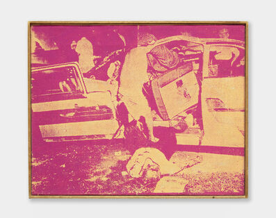 Richard Pettibone, 'Andy Warhol, Saturday Disaster, 1964', 1970