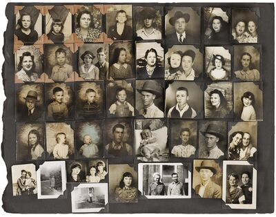 Unknown Photographer, 'Untitled [Photobooth Portrait Album Page]', ca. 1935