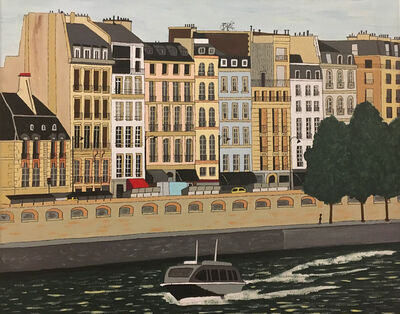 Don Hammontree, 'Cruise on the Seine, Paris', 2020