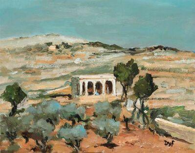 Marcel Dyf, 'Tombeau Presume de Moise, sur la Route de Jericho', 1969