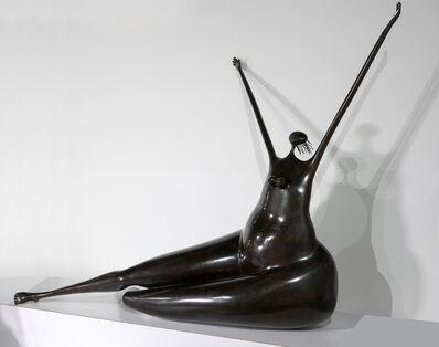 Abigail Varela, 'Mujer Sentada clamando al cielo II', 1995