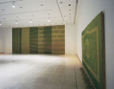 Heather Ackyrod & Dan Harvey, 'Green brick, green back', 2004