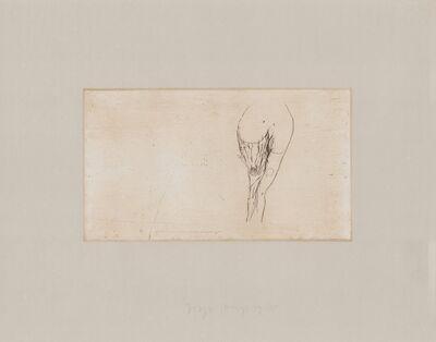 Joseph Beuys, 'Frauentorso Tränen', 1980-1990